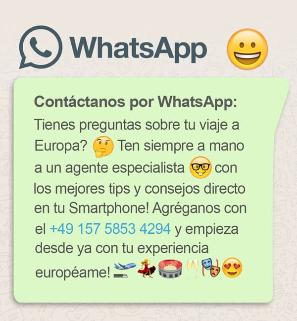Contacto WhatsApp +49 157 5853 4294